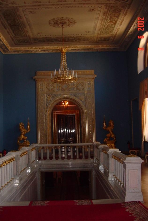 R SP entrada teatro Peterhof