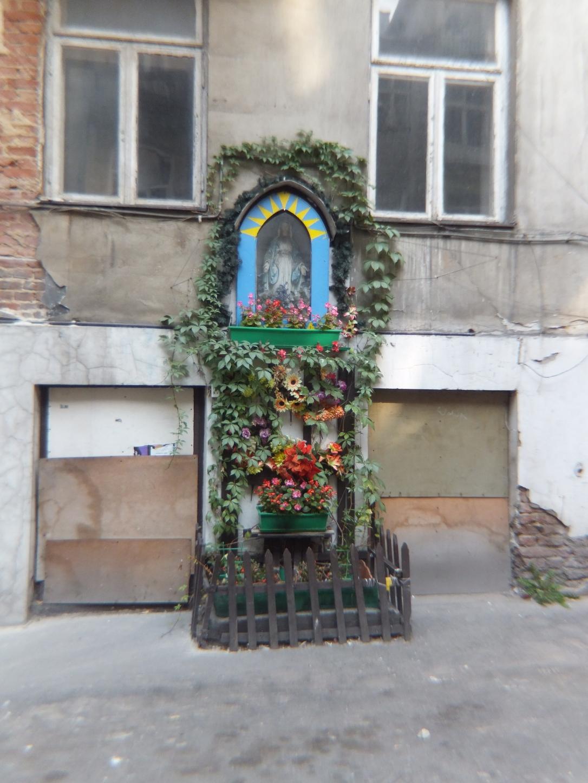 ALTARES CALLEJEROS VARSOVIA